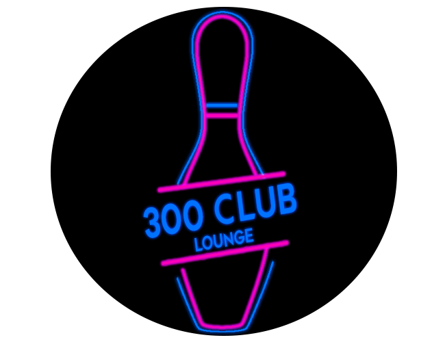 300 club neon circle